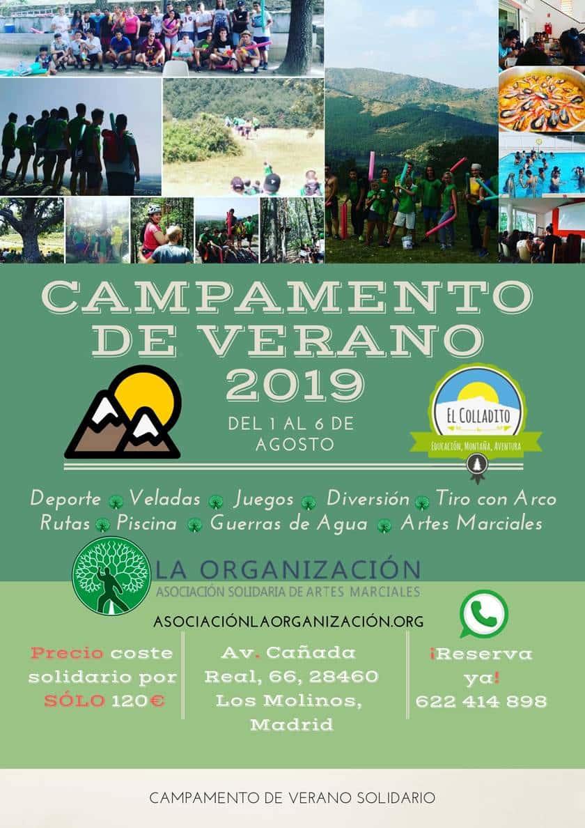 Campamento de verano 2018 - 2019 - La Organización
