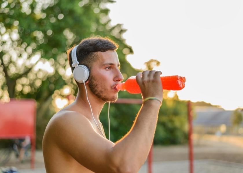 Riesgos de practicar deporte para la salud oral.